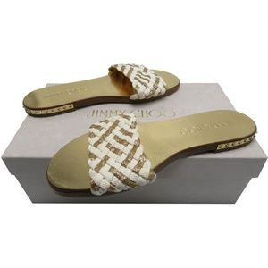 JIMMY CHOO slides sandals 36.5